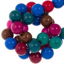 Perlenmischung Acrylperlen (10 mm) Mix Color (95 Stück)