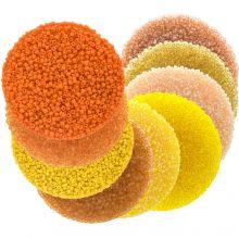 Vorteilspackung - Rocailles (2 mm / 9 x 50 Gramm) 'Mix Color Yellow'