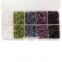 Perlenset - Rocailles (6 x 1.8 mm) 'Mix Color'