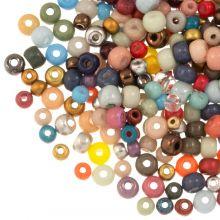 Perlenmischung Rocailles (2 - 3 - 4 mm) Mix Color (50 Gramm)