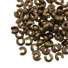 Kaschierperlen (5 mm) Bronze (25 Stück)