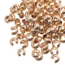 Kaschierperlen (6 mm) Gold (25 Stück)
