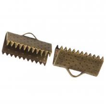 Bandklemme (13 mm) Bronze (20 Stück)