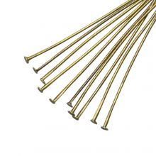 Nietstifte (50 mm Dicke 0.6 mm) Bronze (100 Stück)