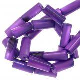 Muschelperlen (10 x 4 mm) Violet (36 Stück)