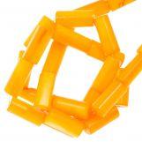 Muschelperlen (10 x 4 mm) Orange (36 Stück)