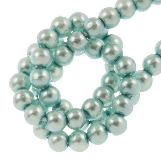 DQ Glaswachsperlen (2 mm) Baby Blue (150 Stück)