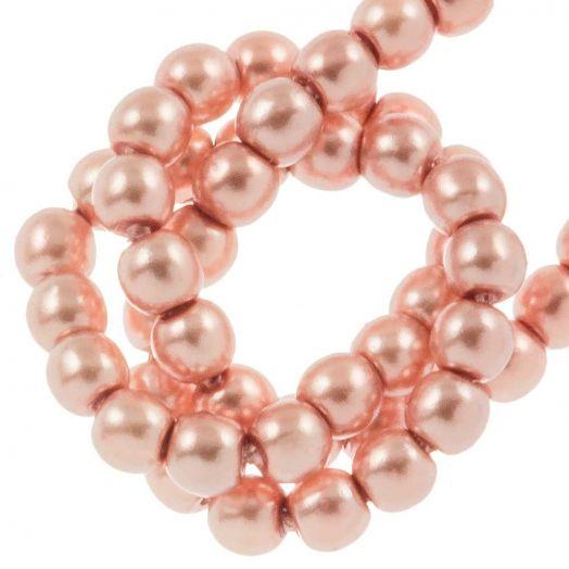 DQ Glaswachsperlen (2 mm) Antique Pink (150 Stück)