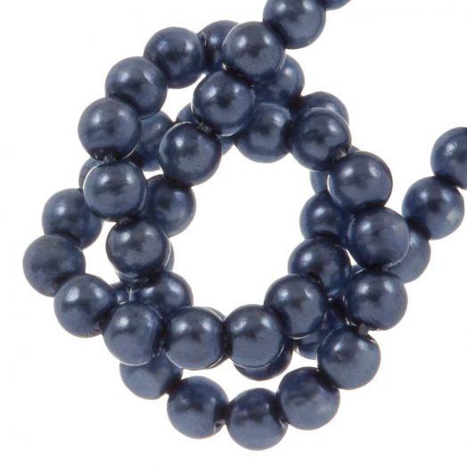 DQ Glaswachsperlen (2 mm) Persian Blue (150 Stück)