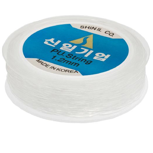 Topqualität Elastikfaden (1.2 mm) 20 Meter (Transparent)