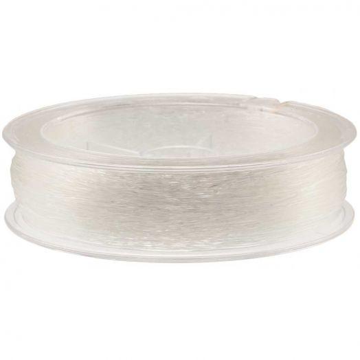 Topqualität Elastikfaden (0.6 mm) 80 Meter (Transparent)