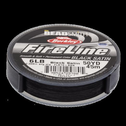 Fireline 6 LB (0.15 mm) Black (45 Meter)