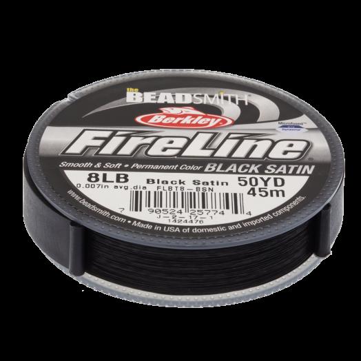 Fireline 8 LB (0.17 mm) Black (45 Meter)