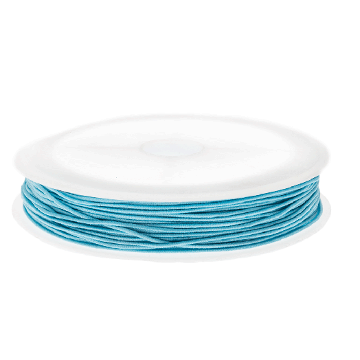 Elastikfaden (0.6 mm) Baby Blue (19 Meter)