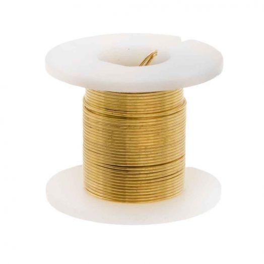 Kupferdraht (0.40 mm) Gold (2.75 Meter)