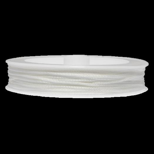 Satinschnur (0.8 mm) White (20 Meter)