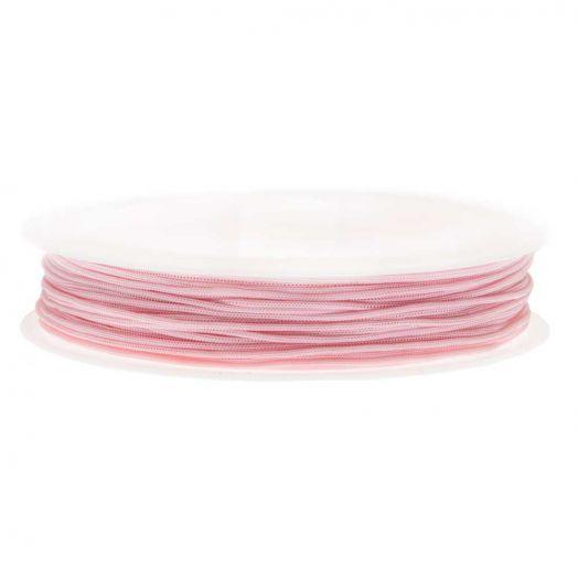Satinschnur (0.5 mm) Baby Pink (25 Meter)