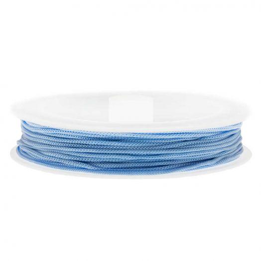Satinschnur (0.8 mm) Light Blue (20 Meter)