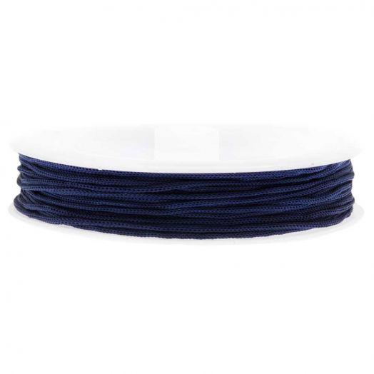 Satinschnur (0.8 mm) Dark Blue (20 Meter)