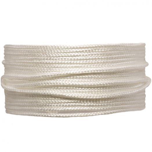 Satinschnur (1.5 mm) White (20 Meter)