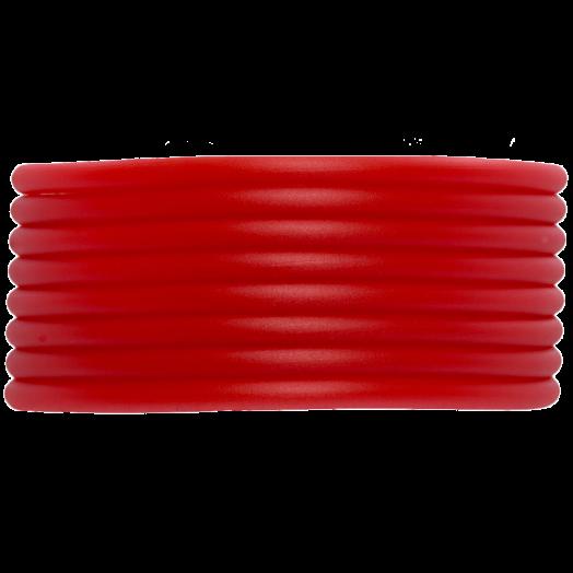 Gummiband Holen (2 mm) Bright Red (5 Meter)