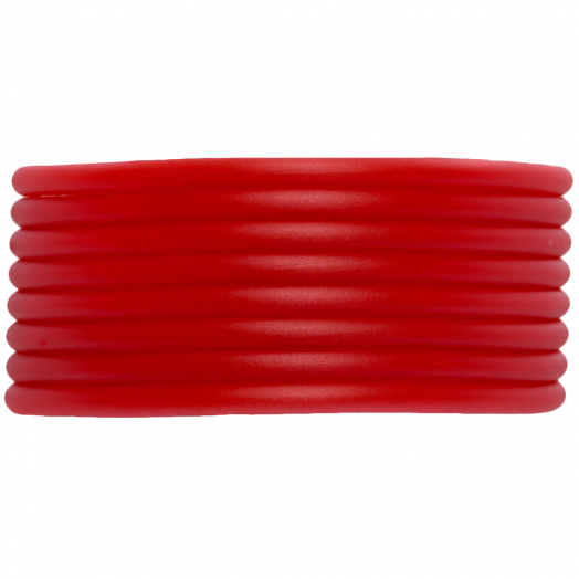 Gummiband Holen (3 mm) Bright Red (5 Meter)
