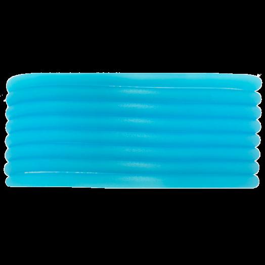 Gummiband Holen (3 mm) Sky Blue (5 Meter)