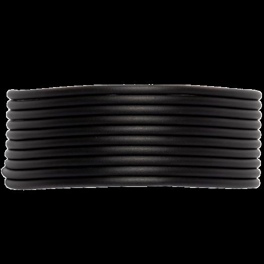 Gummiband Holen (2 mm) Black (5 Meter)