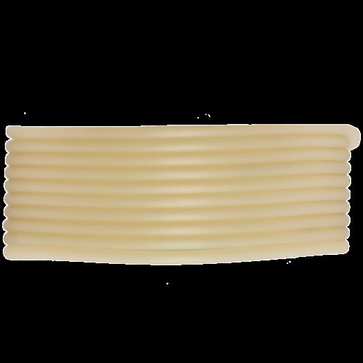 Gummiband Holen (2 mm) Light Sand (5 Meter)