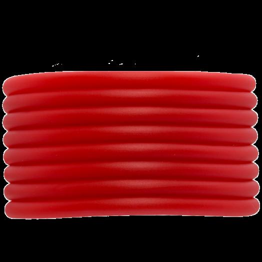 Gummiband Holen (4 mm) Bright Red (5 Meter)
