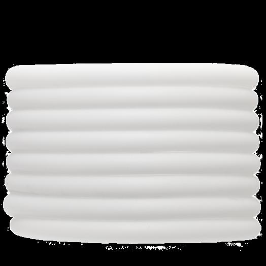 Gummiband Holen (5 mm) White (2 Meter)