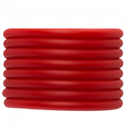 Gummiband Holen (5 mm) Bright Red (2 Meter)