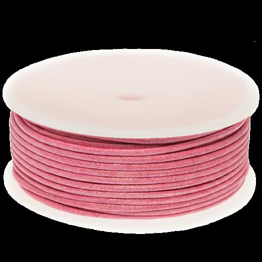 Wachsschnur (2 mm) Pink (25 Meter)