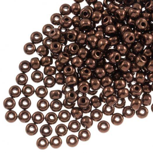 DQ Rocailles (3 mm) Shine Copper (25 Gramm / 600 Stück)