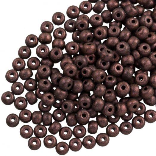 DQ Rocailles (2 mm) Dark Brown (10 Gramm / 1000 Stück)