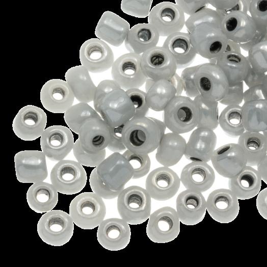 Rocailles (4 mm) Grey (100 Gramm)