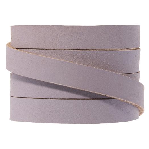 DQ Flaches Leder (10 x 2 mm) Lilac (1 Meter)