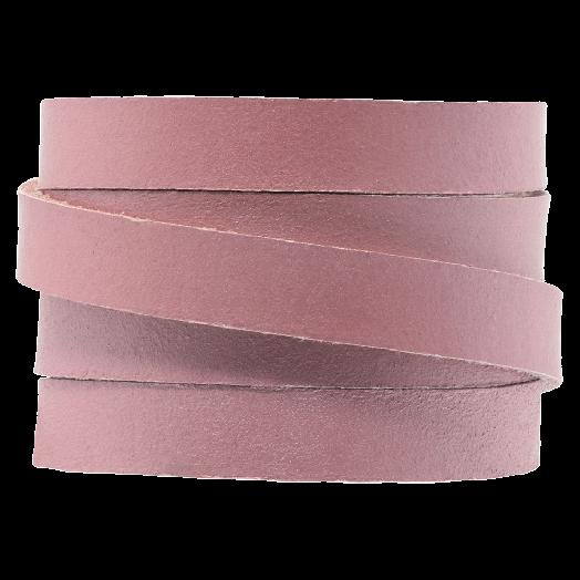 Flach Leder (10 x 2 mm) Pink (1 Meter)