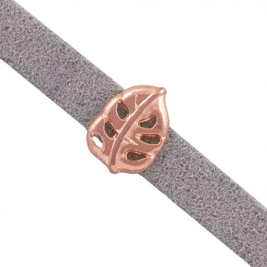 Schieber (Innenmaß 5 x 2 mm) Rose Gold (10 Stück)