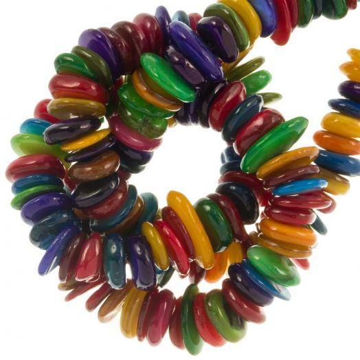 Muschelperlen (10 - 5 mm) Mix Color (350 Stück)