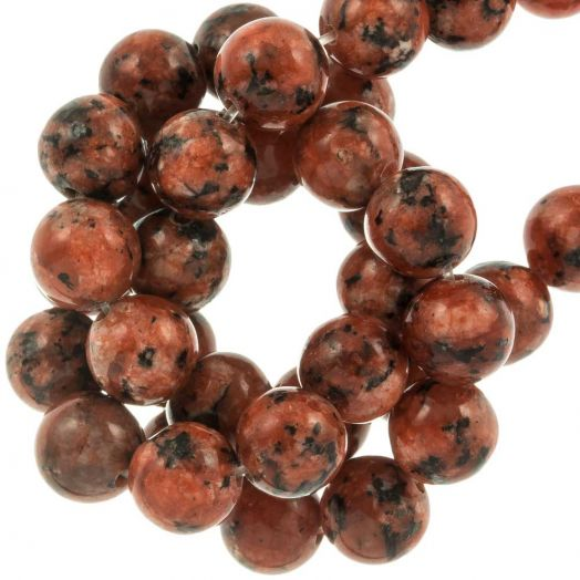 Labradorite Perlen (8 mm) Brick (46 Stück)