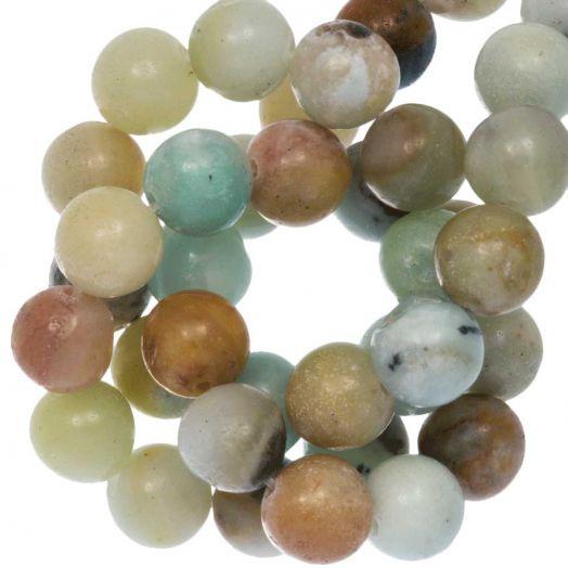 Amazonite Perlen (10 mm) 36 Stück