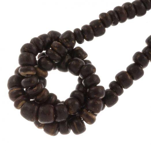 Kokos Perlen (2 -3mm) Natural Brown (110 Stück)