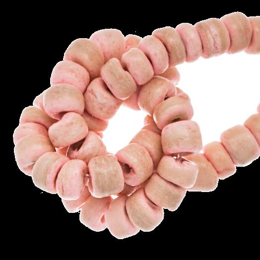 Kokos Perlen (4 - 5 mm) Candy Pink (110 Stück)