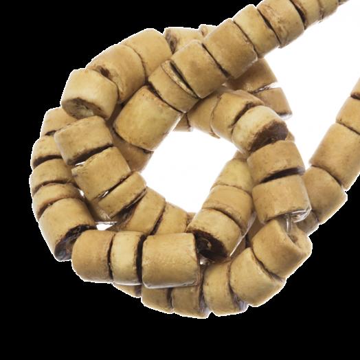 Kokos Perlen (4 - 5 mm) Natural (120 Stück)
