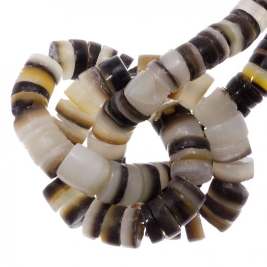 Muschelperlen (4 - 5 mm) Black Lip Shell (165 stück)