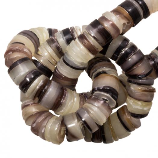 Muschelperlen (4 - 5 mm) Hammer Shell (165 stück)