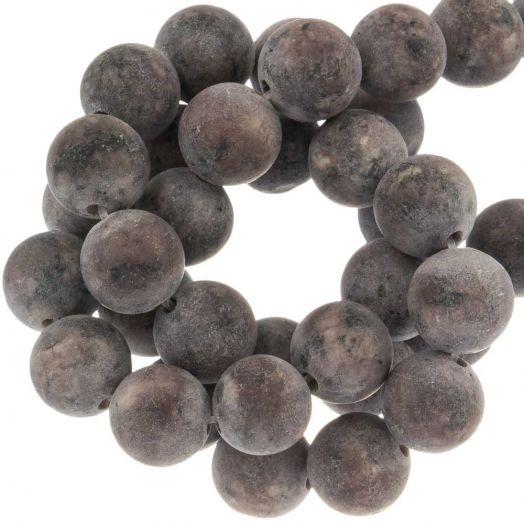 Labradorite Perlen (8 mm) Brown (50 Stück)