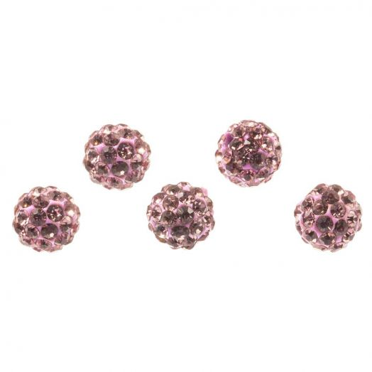 Shamballa Perlen (8 mm) Mountbatten (5 Stück)