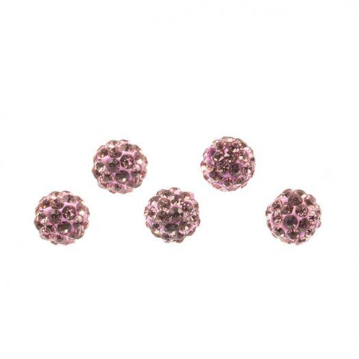 Shamballa Perlen (4 mm) Mountbatten (5 Stück)